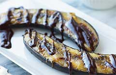 Grilled Bananas with Rum Honey Recipe