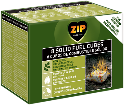 ZIP 8 SOLID FUEL CUBES