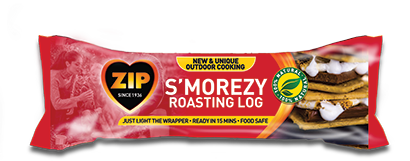 ZIP S'MOREZY ROASTING LOG